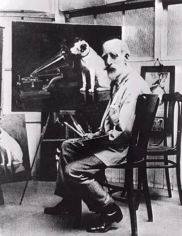 "Barraud painting ""His Master's Voice"""