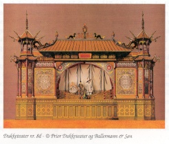 Prior's Model Theatres: no 8d The Pantomime Theatre
